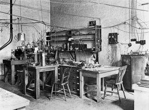 sir_ernest_rutherfords_laboratory_early_20th_century